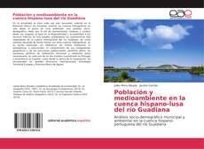 Portada del libro de Población y medioambiente en la cuenca hispano-lusa del río Guadiana