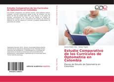 Portada del libro de Estudio Comparativo de los Currículos de Optometría en Colombia