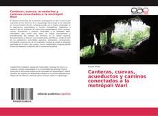 Bookcover of Canteras, cuevas, acueductos y caminos conectados a la metrópoli Wari