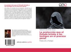 Bookcover of La protección que el Estado brinda a los testigos en el proceso penal