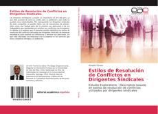 Bookcover of Estilos de Resolución de Conflictos en Dirigentes Sindicales