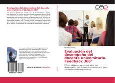 Portada del libro de Evaluación del desempeño del docente universitario. Feedback 360°