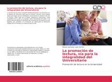 Capa do livro de La promoción de lectura, vía para la integralidad del Universitario