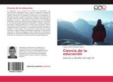 Bookcover of Ciencia de la educación