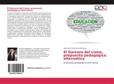 Portada del libro de El Garcero del Llano, propuesta pedagógica alternativa