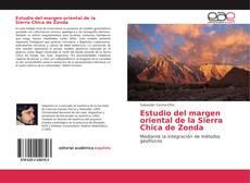 Bookcover of Estudio del margen oriental de la Sierra Chica de Zonda