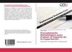 Portada del libro de Procedimiento Metodológico para Evaluar el Impacto de la Capacitación