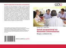 Salud ocupacional en docentes universitarios的封面
