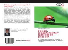 Bookcover of Biología, comportamiento y capacidad de predación