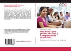 Capa do livro de Pasantías pre profesionales y competencias laborales