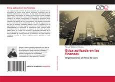 Couverture de Etica aplicada en las finanzas