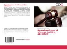 Capa do livro de Aproximaciones al sistema Jurídico ARHUACO