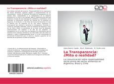 Copertina di La Transparencia: ¿Mito o realidad?