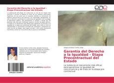 Обложка Garantía del Derecho a la Igualdad - Etapa Precontractual del Estado