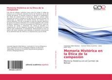 Memoria Histórica en la Ética de la compasión kitap kapağı