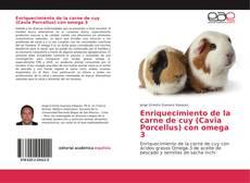 Portada del libro de Enriquecimiento de la carne de cuy (Cavia Porcellus) con omega 3