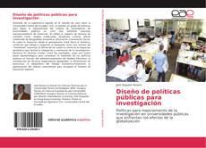 Copertina di Diseño de políticas públicas para investigación
