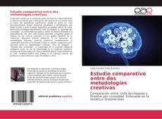 Capa do livro de Estudio comparativo entre dos metodologías creativas