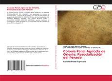 Colonia Penal Agrícola de Oriente, Resocialización del Penado的封面