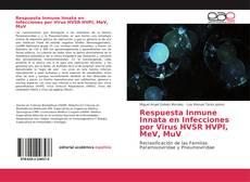 Bookcover of Respuesta Inmune Innata en Infecciones por Virus HVSR HVPI, MeV, MuV