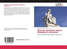 Capa do livro de Breves apuntes sobre filosofía y derecho