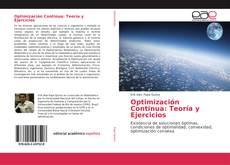 Обложка Optimización Continua: Teoría y Ejercicios