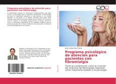 Borítókép a  Programa psicológico de atención para pacientes con fibromialgia - hoz