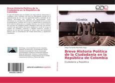 Portada del libro de Breve Historia Política de la Ciudadanía en la República de Colombia