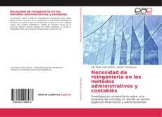 Обложка Necesidad de reingenieria en los métodos administrativos y contables