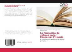Bookcover of La formación de valores en la Educación Primaria