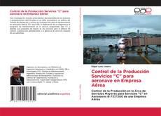 """Borítókép a  Control de la Producción Servicios """"C"""" para aeronave en Empresa Aérea - hoz"""