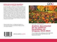 Portada del libro de Análisis documental de las políticas focalizadas en Uruguay 2014-2015