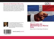 Opusculos de Marketing-La Marca Pais的封面