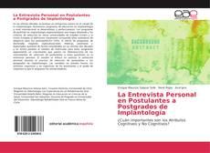 Borítókép a  La Entrevista Personal en Postulantes a Postgrados de Implantología - hoz