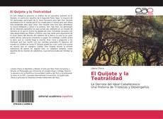 Portada del libro de El Quijote y la Teatralidad