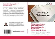 Copertina di Mantenimiento preventivo en Compañías de Montajes Metalmecánicos