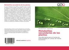Metabolitos secundarios de las plantas的封面