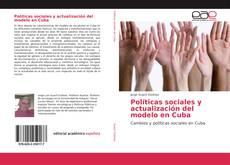 Обложка Políticas sociales y actualización del modelo en Cuba