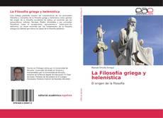 Portada del libro de La Filosofía griega y helenística