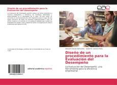 Bookcover of Diseño de un procedimiento para la Evaluación del Desempeño