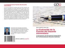 Bookcover of La Evaluación de la Función del Docente Universitario