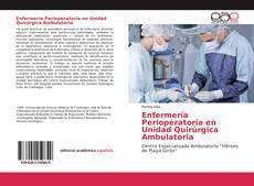 Portada del libro de Enfermería Perioperatoria en Unidad Quirúrgica Ambulatoria