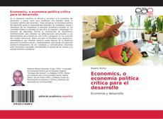 Portada del libro de Economics, o economía política crítica para el desarrollo