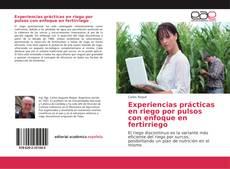 Capa do livro de Experiencias prácticas en riego por pulsos con enfoque en fertirriego