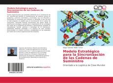Portada del libro de Modelo Estratégico para la Sincronización de las Cadenas de Suministro