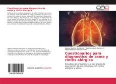 Borítókép a  Cuestionarios para diagnostico de asma y rinitis alérgica - hoz