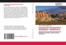 Integración Cartográfica Geológica - Geotecnica kitap kapağı