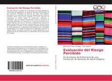 Capa do livro de Evaluación del Riesgo Percibido