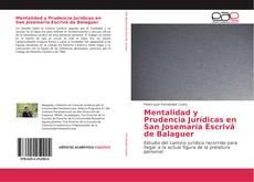 Borítókép a  Mentalidad y Prudencia Jurídicas en San Josemaría Escrivá de Balaguer - hoz
