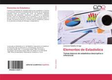 Elementos de Estadística kitap kapağı